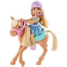 Кукла Mattel Barbie Челси и пони