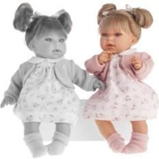 Озвученная кукла Лорена в розовом