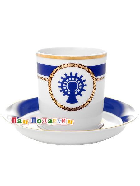 Чайная чашка с блюдцем Кают компания № 5