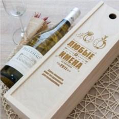 Коробка для вина Обручальная