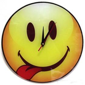 Часы настенные Смайлик