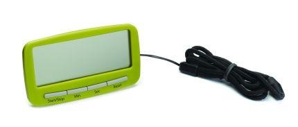 Таймер-часы кухонные на клипсе Clip timer, зеленый