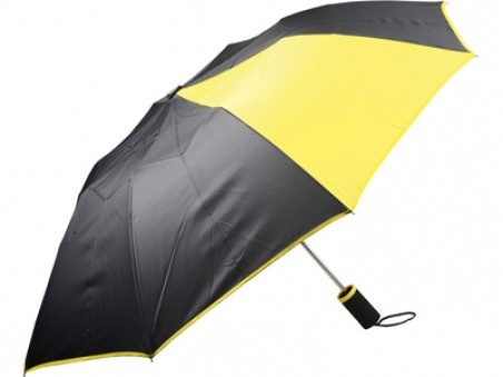 Желто-черный складной автоматический зонт «Логан»