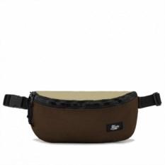 Поясная сумка Якорь (цвет: коричневый)