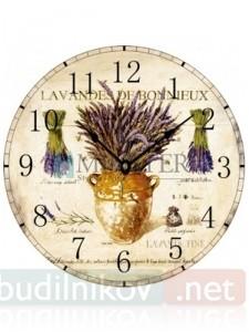Настенные часы Лаванда
