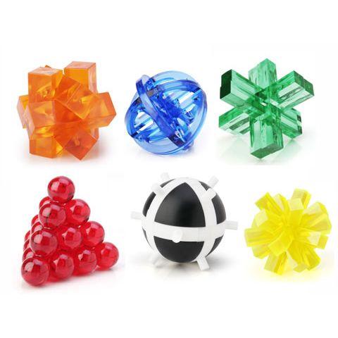 Пластиковые 3D головоломки мини-радуга