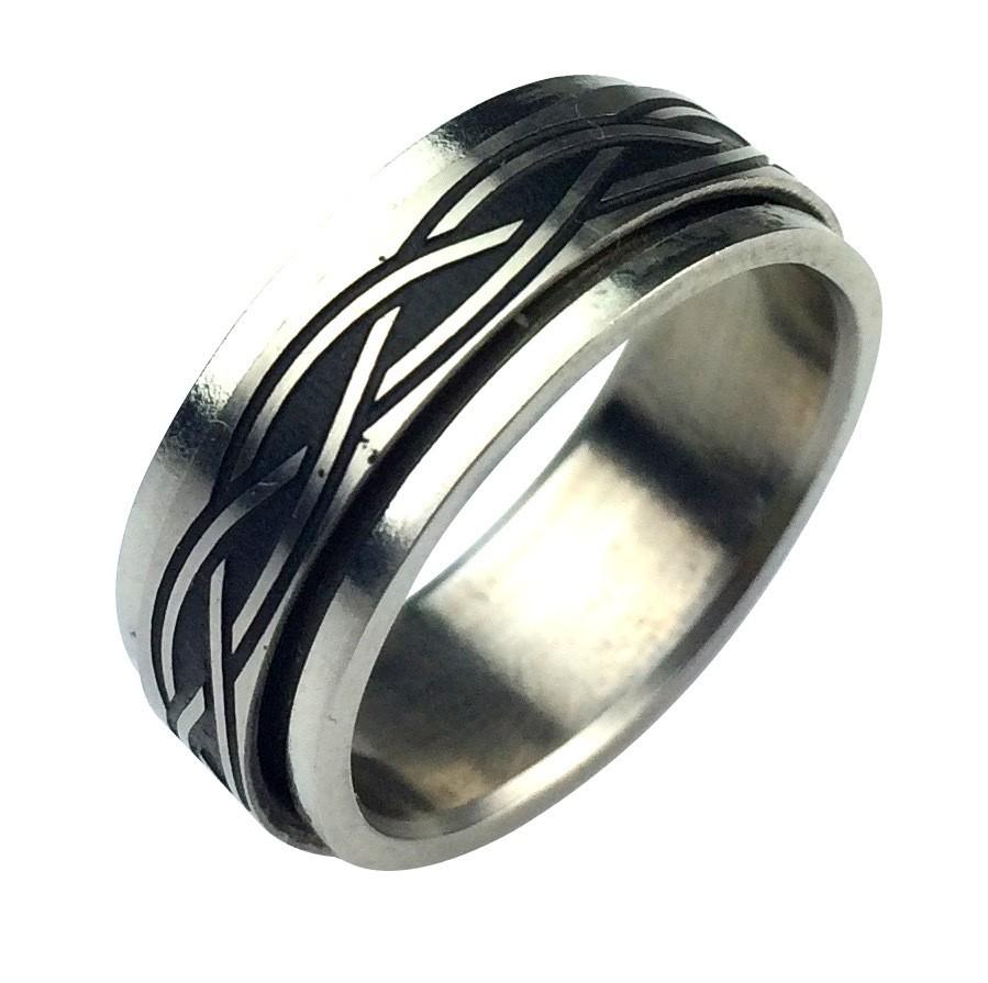 Кольцо из стали Respect Steel SRPL19