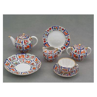 Сервиз чайный «Русский лубок»