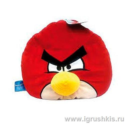 Подушка Angry Birds Красная птица (Red bird)