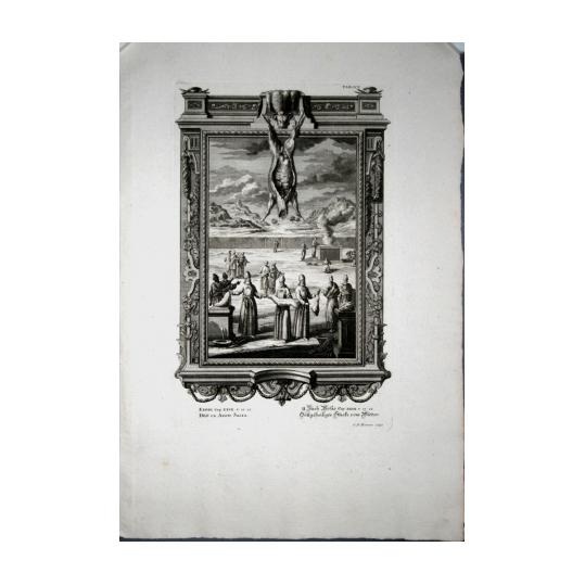 Гравюра «Храм Соломона»