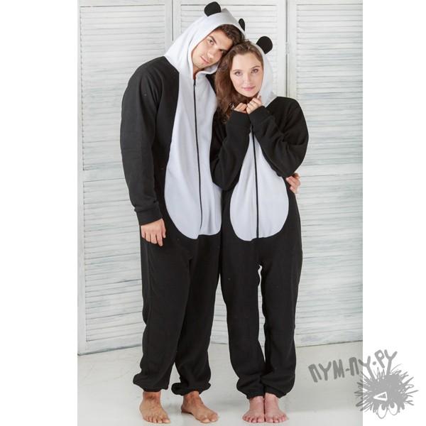 Пижама-комбинезон Веселая панда