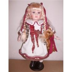 Фарфоровая кукла Эстелла