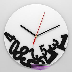 Часы «Осыпавшиеся цифры»