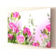 Фотокартина Букет алых роз