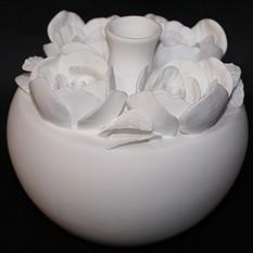 Фарфоровая ваза Розы
