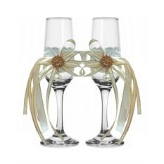 Набор свадебных бокалов №49