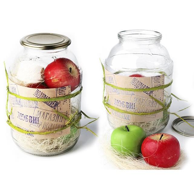 Домашняя заготовка яблок (набор свечей)