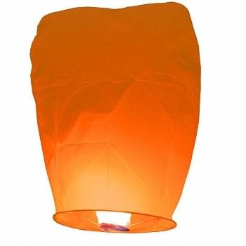 Небесный фонарик Оранжевый Конус