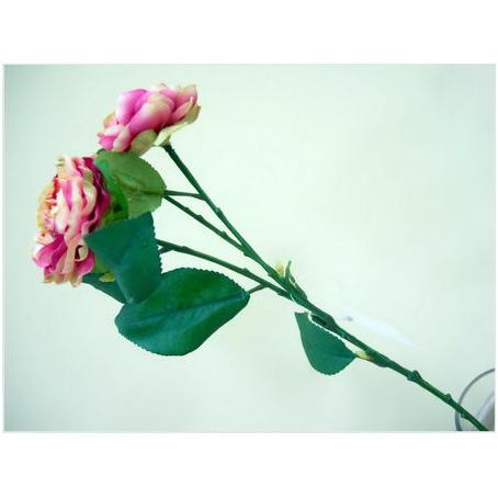 Цветок декоративный «3 розовых бутона»