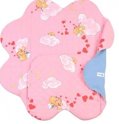 Детский конверт Light Denim Style Pink