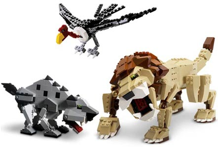 Игрушки LEGO: Дикие охотники