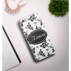 Именной чехол для iPhone Узор