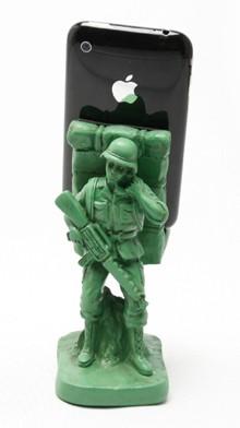 Подставка для мобильника Army man