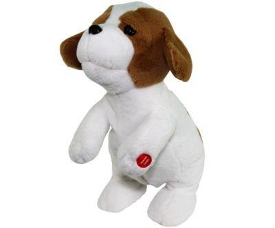 Поющая игрушка Ласковый щенок (белый)