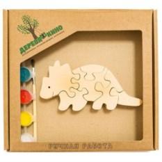Развивающая игрушка Бронтозавр 2 с красками