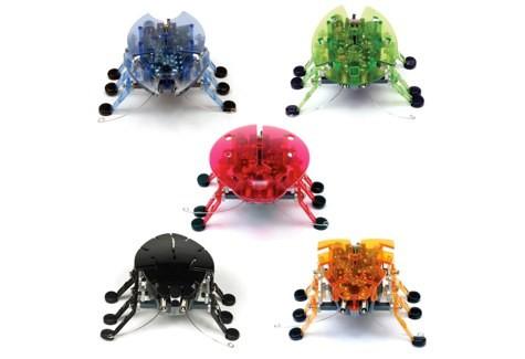 Микроробот Жук, разные цвета