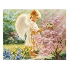 Алмазная вышивка «Ангел хранитель» Доны Гелсингер