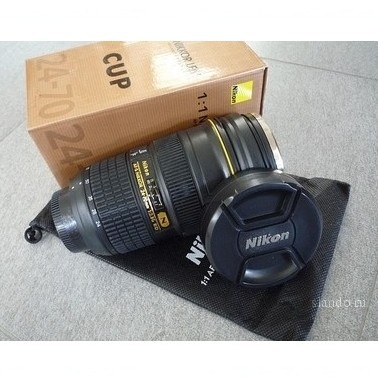 Кружка объектив Nikon
