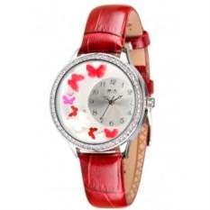 Красные наручные часы для девочки Mini Watch