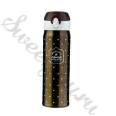 Вакуумная термокружка Lifestyl – Bronze