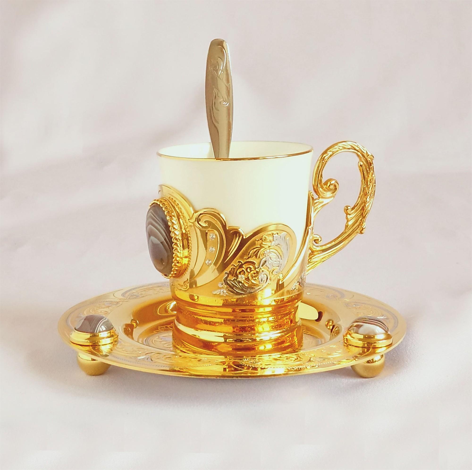 Кофейный набор Агатовый