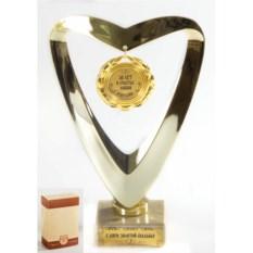 Подарочный кубок Сердце. 50 лет в счастье любви и согласии