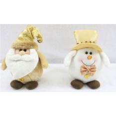 Новогодний сувенир Дед Мороз и Снеговик
