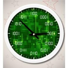 Часы «Двоичная система счисления»