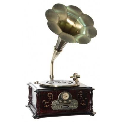 Граммофон-ретро (радио+CD/MP3/USB PLAYER)