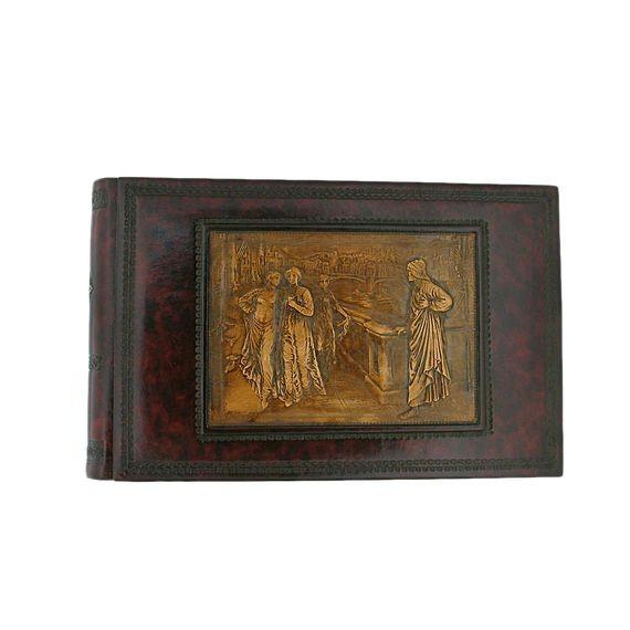 Florentia. Кожаный фотоальбом Dante & Beatrice
