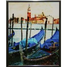 Картина с кристаллами Swarovski Малая Венеция
