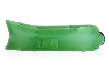 Зеленый надувной диван Биван