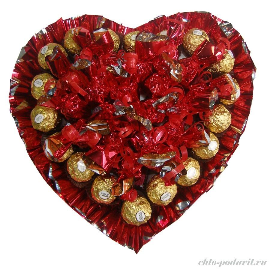 Букет Влюбленное сердце