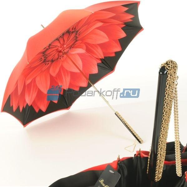 Женский зонт-трость Pasotti Rosso Georgin Bella