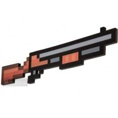 Пиксельный дробовик в стиле Майнкрафт
