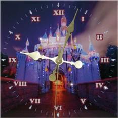 Часы с кристаллами Swarovski Замок