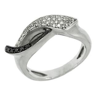 Кольцо с 30-ю бриллиантами