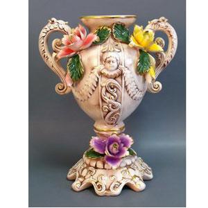Ваза с лепниной «Букет цветов»