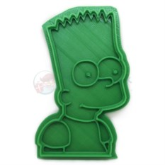 Форма для печенья Bart Simpson