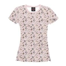 Женская футболка Влюбленные собачки